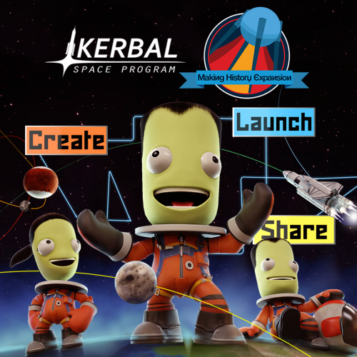 Kerbal Space Program: Making History Expansion Launching March 13